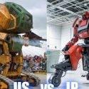 В Японии прошла битва боевых человекоподобных роботов!