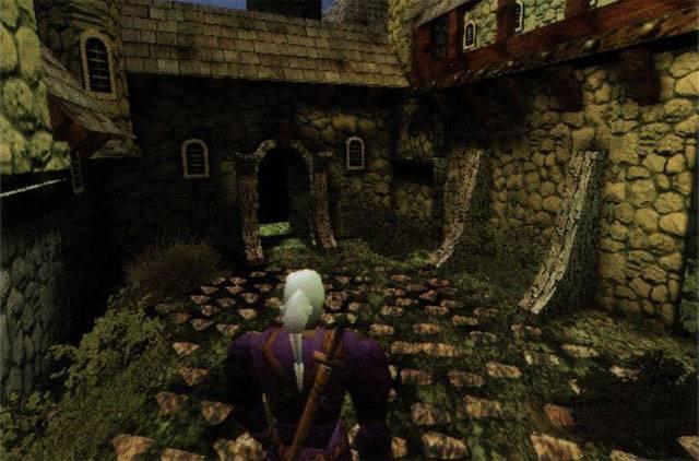 Вот как могла выглядеть самая первая игра про Ведьмака