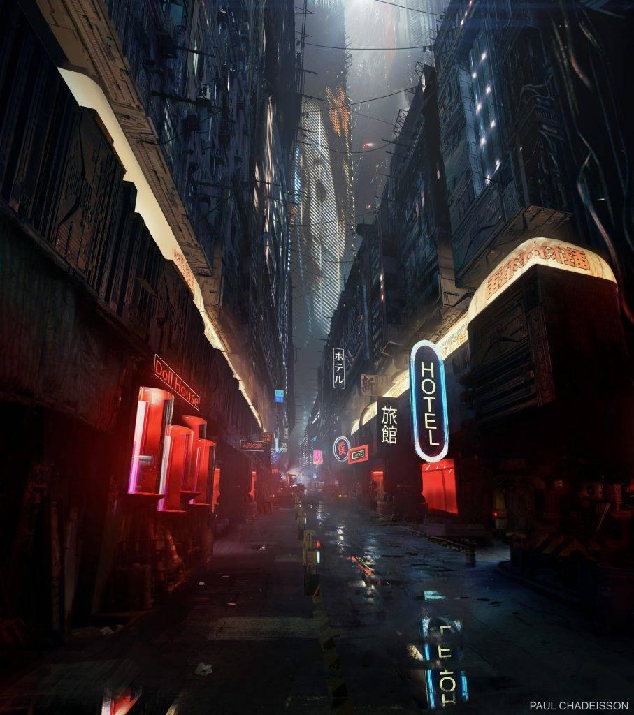 Виды киберпанка: стильные концепт-арты к фильму «Бегущий по лезвию 2049» 3