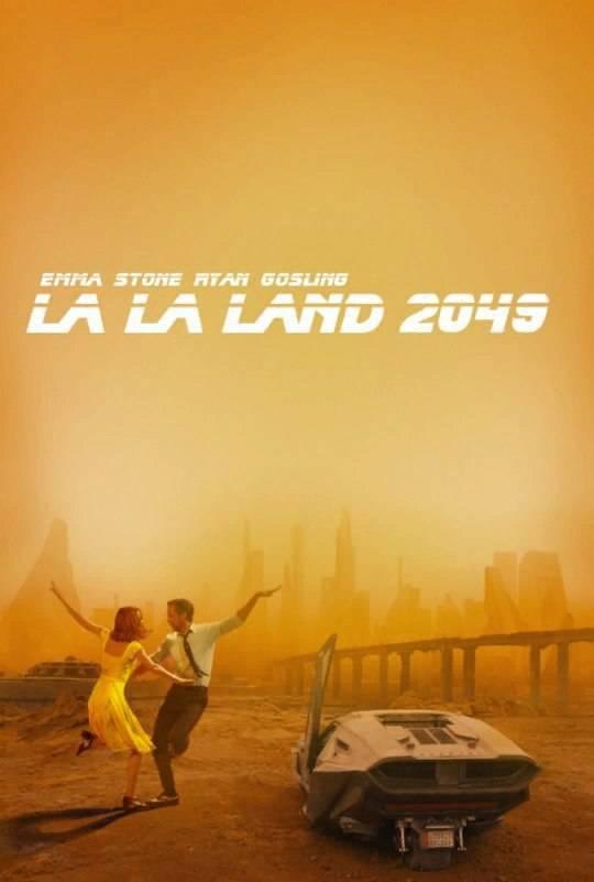 «Ла-Ла-Ленд 2049». В Сети соединяют два выдающихся фильма этого года 4