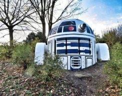 Фото: R2-D2 в пражском парке Фолиманка