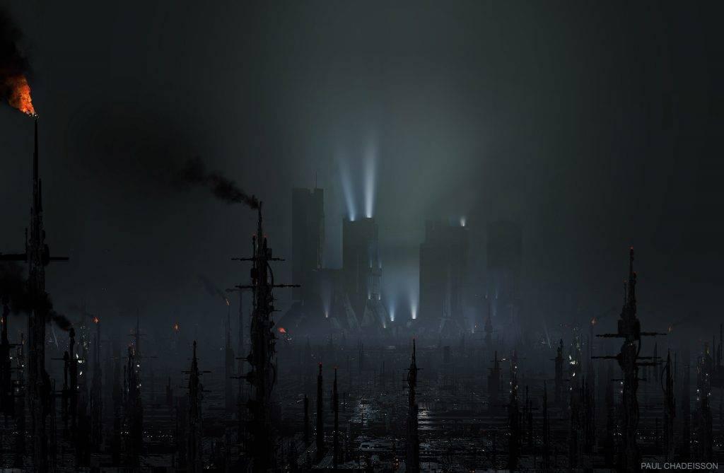 Виды киберпанка: стильные концепт-арты к фильму «Бегущий по лезвию 2049» 5