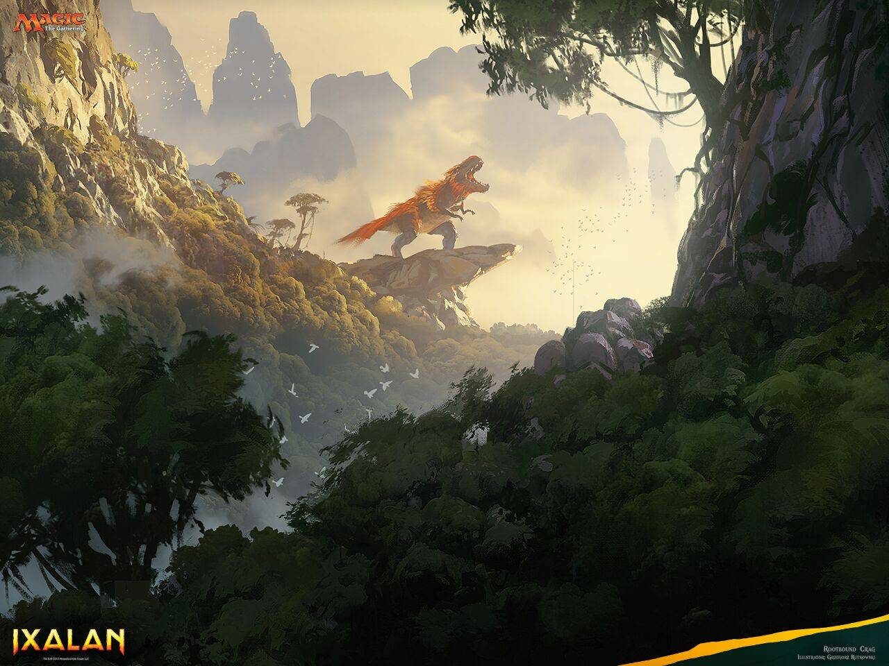 Динозавры, пираты и вампиры: в продажу выходит новый выпуск MtG «Иксалан» 1
