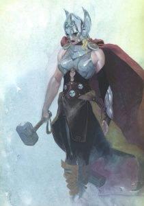 Тор и другие скандинавские боги по версии MARVEL 5