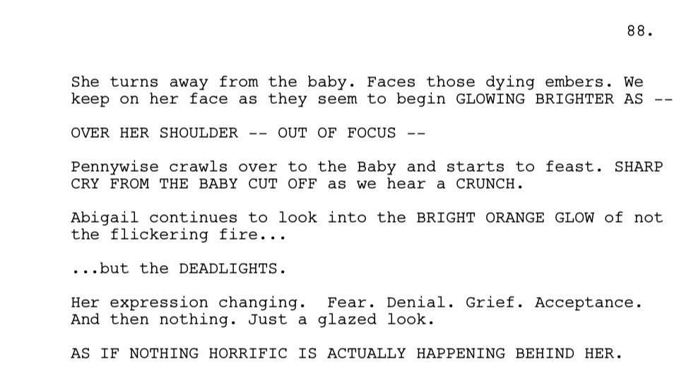 Какую самую страшную сцену вырезали из фильма «Оно»? 1