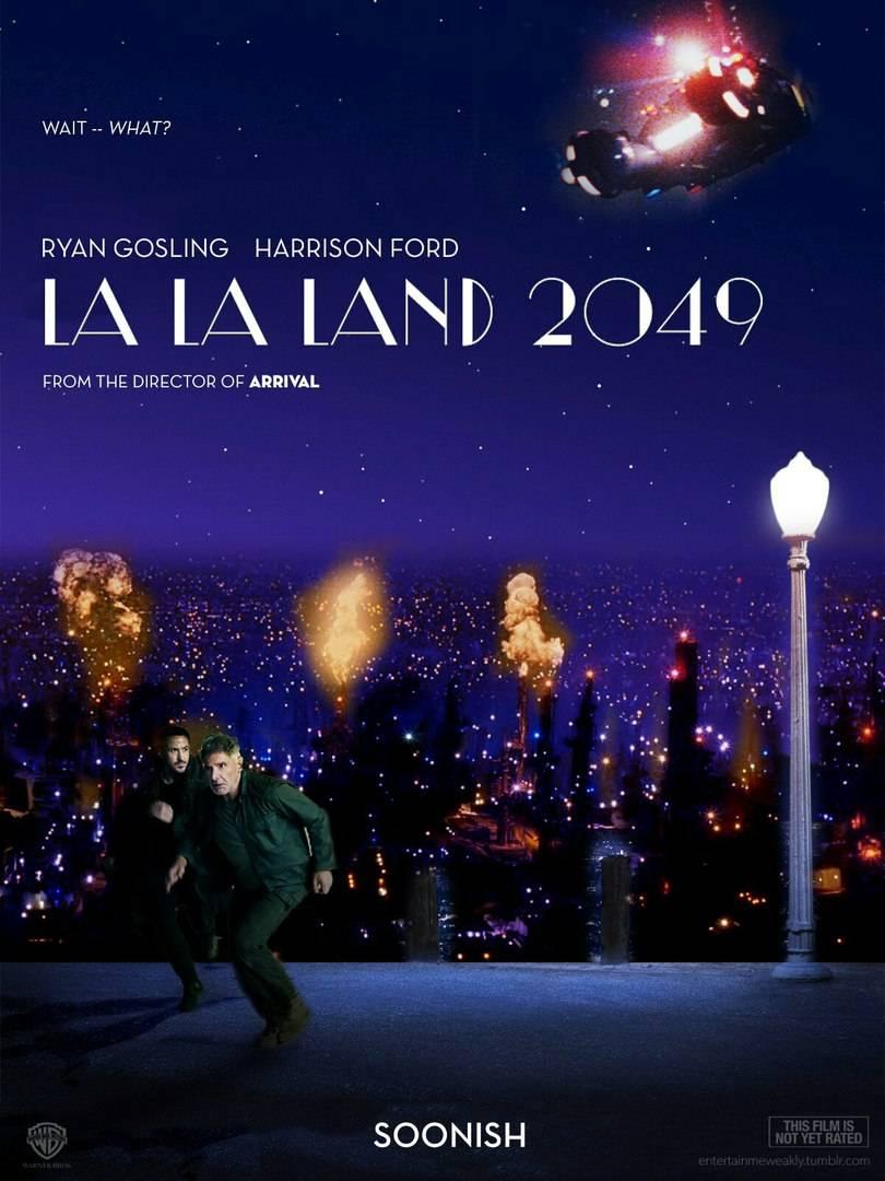 «Ла-Ла-Ленд 2049». В Сети соединяют два выдающихся фильма этого года 2
