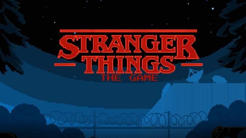 «Очень странные дела» обзавелись пиксельной игрой в ретро-стиле