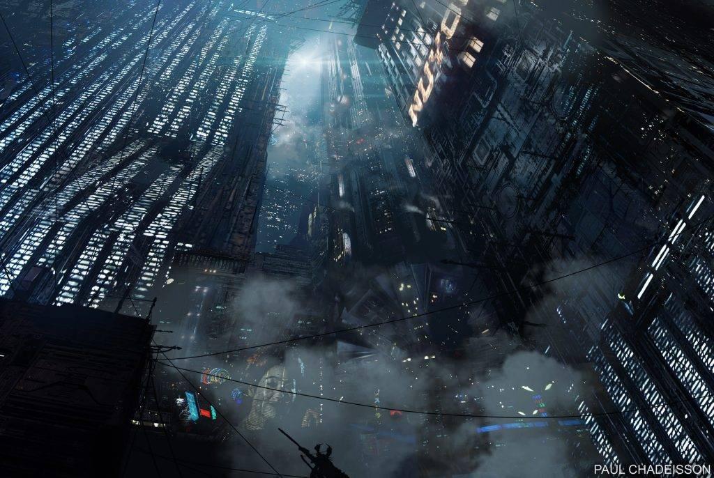 Виды киберпанка: стильные концепт-арты к фильму «Бегущий по лезвию 2049» 9