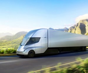 Автомобильная компания Tesla Inc. представила электрогрузовик с автопилотом