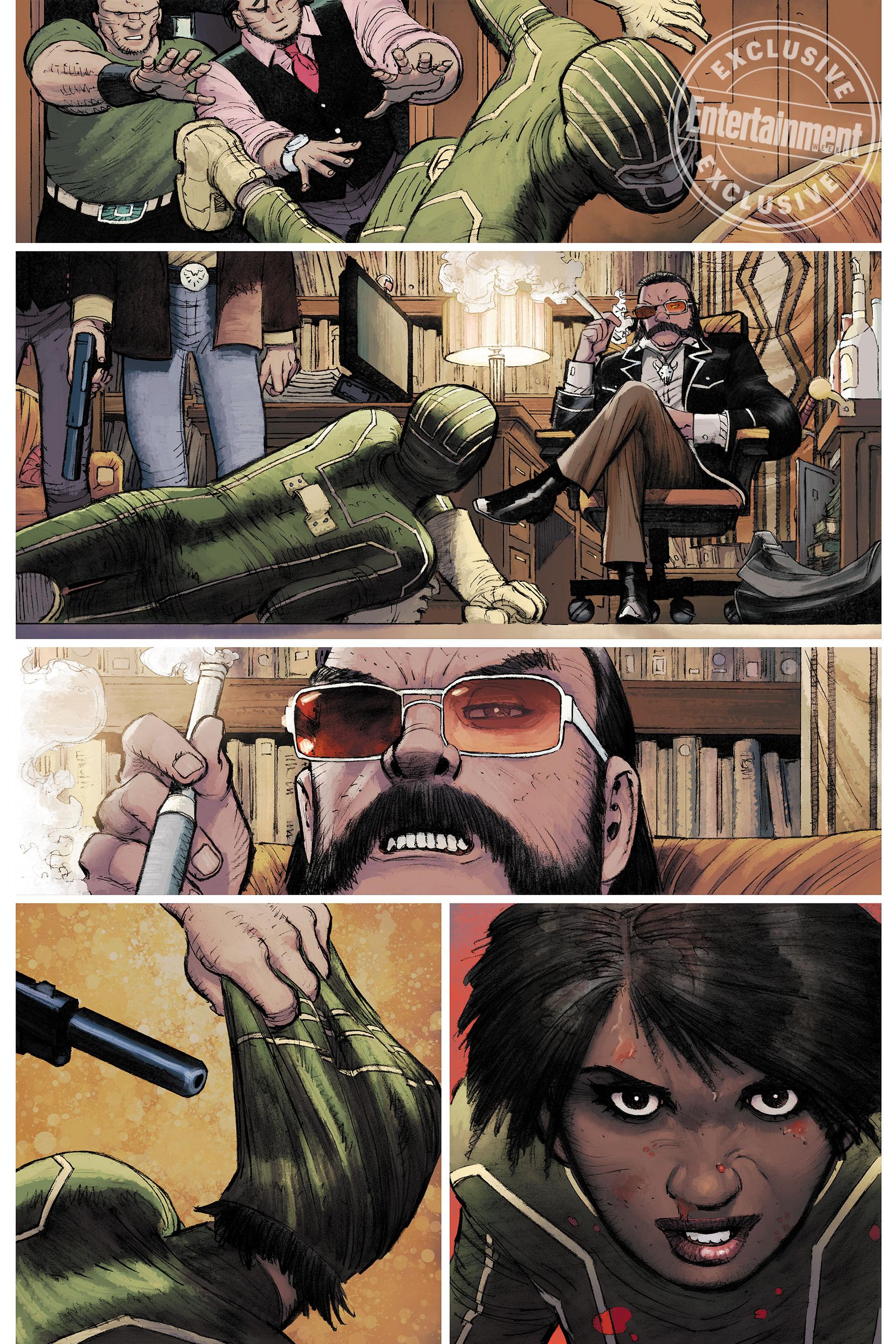 Новый Пипец из комиксов — мать двоих детей и ветеран войны 3
