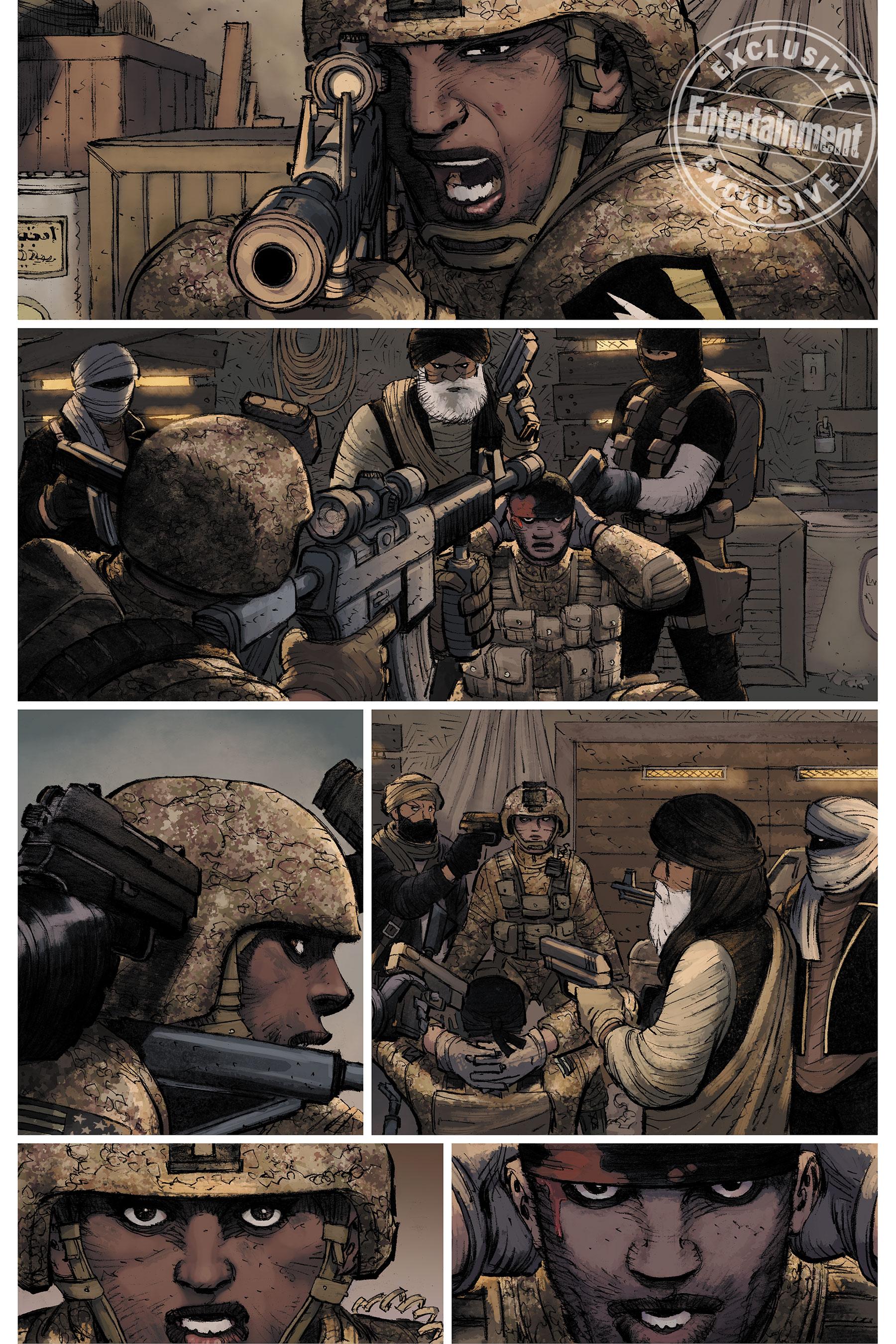 Новый Пипец из комиксов — мать двоих детей и ветеран войны 4