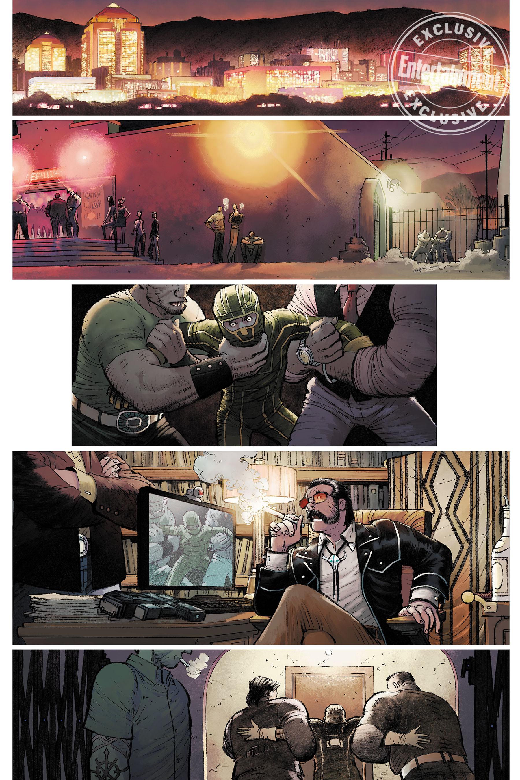 Новый Пипец из комиксов — мать двоих детей и ветеран войны 2