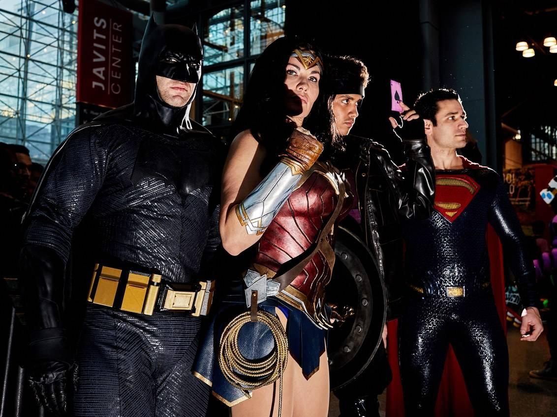 Косплей: Чудо-женщина, Мера, Затанна и другие участники Лиги справедливости 5