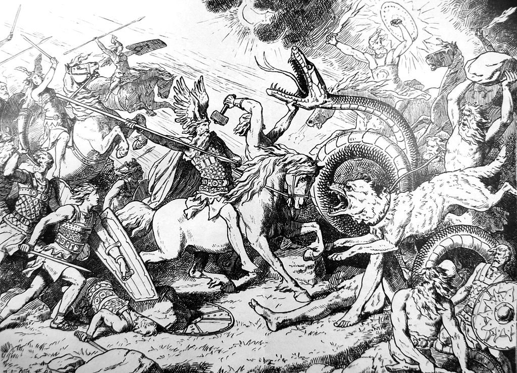 Скандинавская мифология. Боги, миры, чудовища и Эдды 1