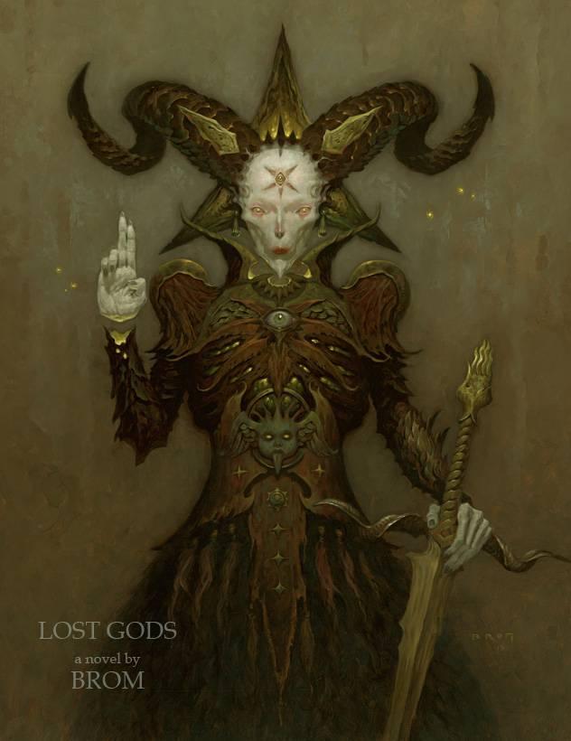 Бром «Потерянные боги» 2