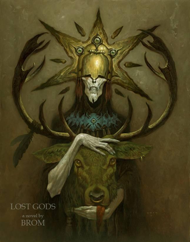Бром «Потерянные боги» 3