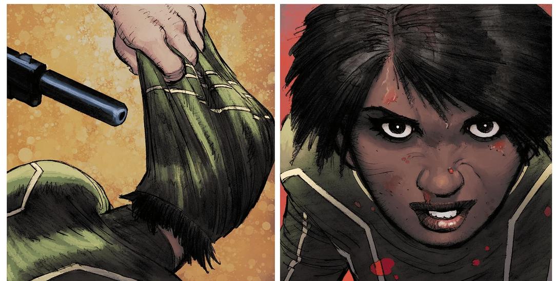 Новый Пипец из комиксов — мать двоих детей и ветеран войны