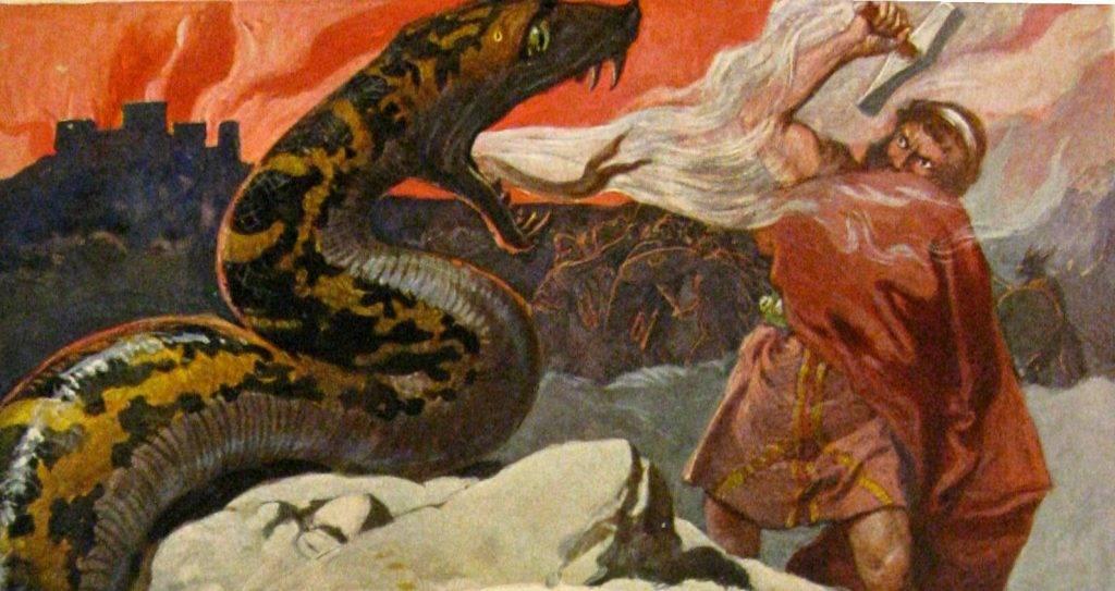 Скандинавская мифология. Боги, миры, чудовища и Эдды