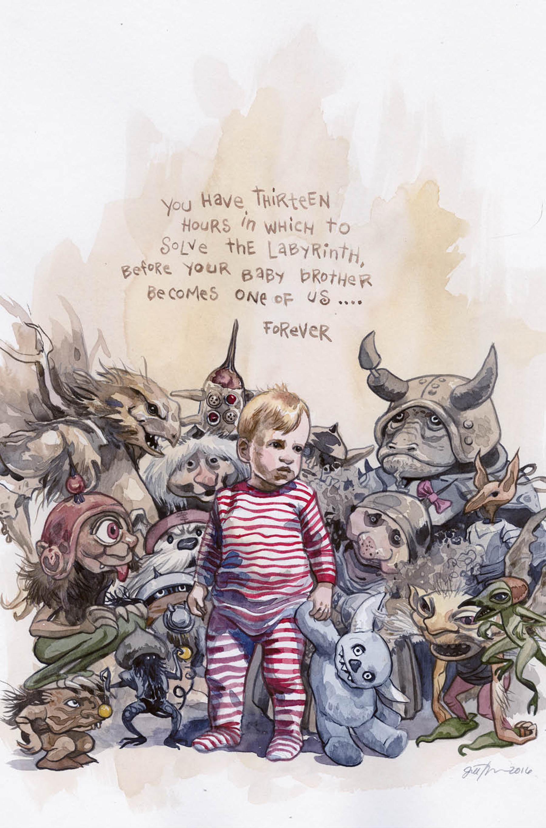 Комикс по «Лабиринту» расскажет предысторию Джарета