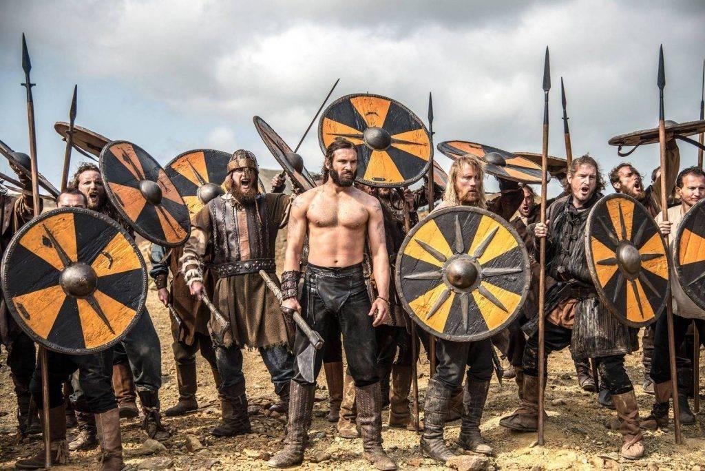 времена викингов картинки кровати