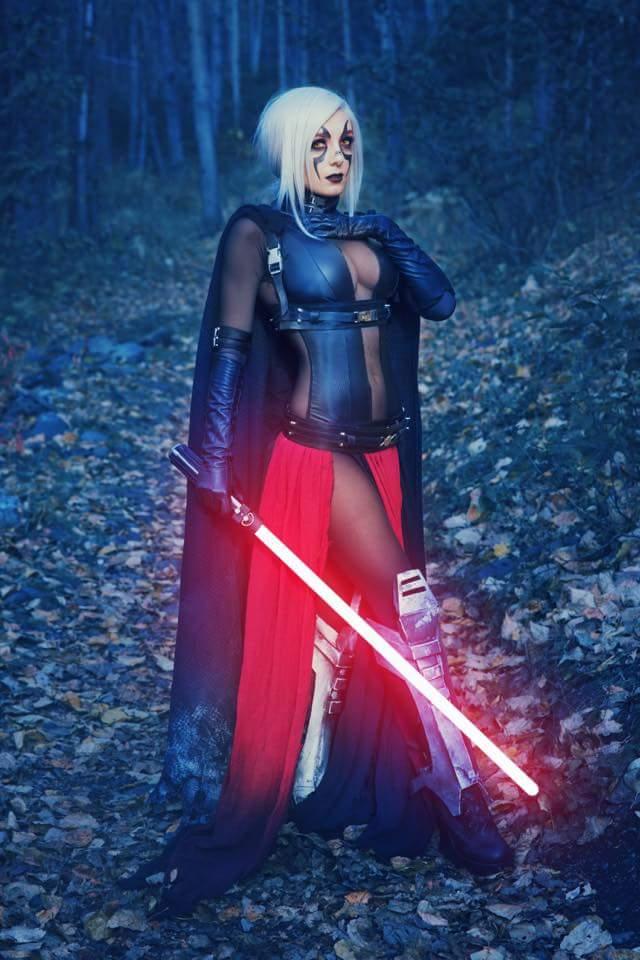 Косплей: Светлая и Тёмная сторона Силы в «Звёздных войнах» 1