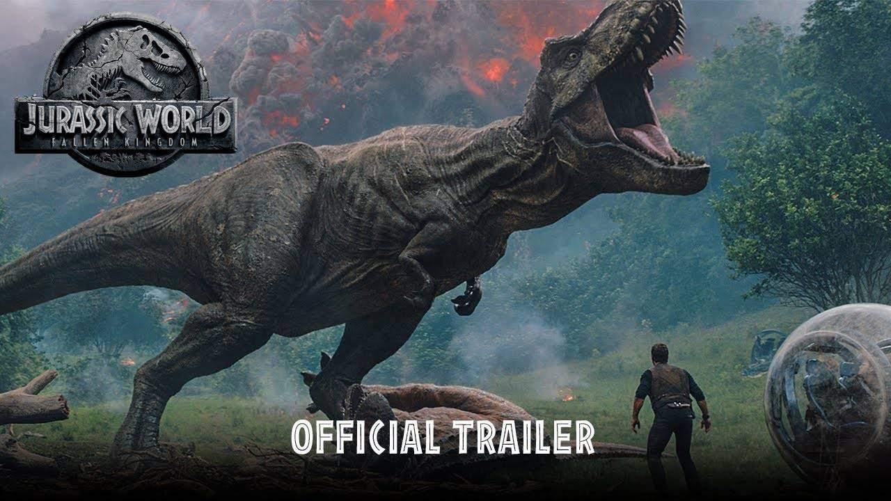 Динозавры и Джефф Голдблюм: первый трейлер «Мира Юрского периода 2»