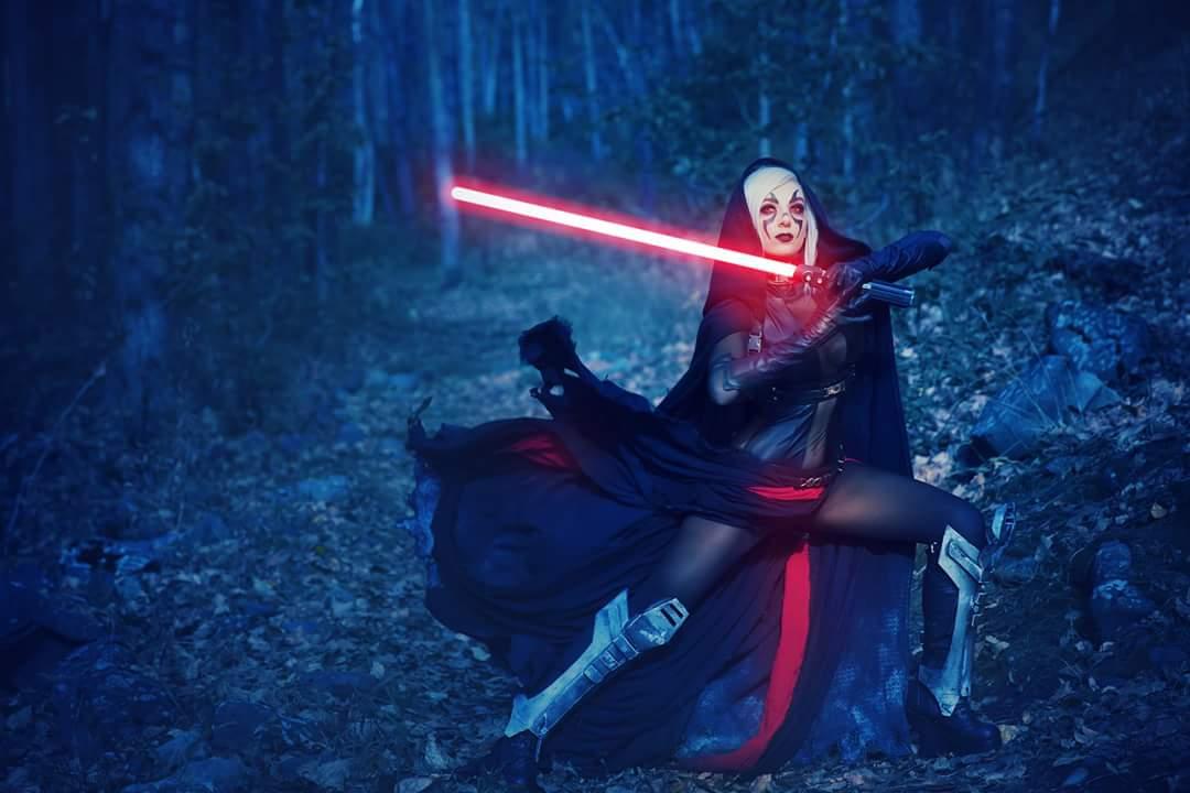 Косплей: Светлая и Тёмная сторона Силы в «Звёздных войнах» 4