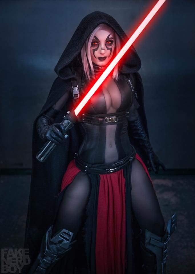 Косплей: Светлая и Тёмная сторона Силы в «Звёздных войнах» 3
