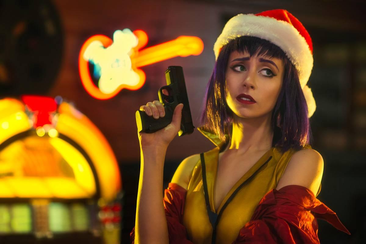 Новогодний косплей: Фэй Валентайн из «Ковбоя Бибопа» 2