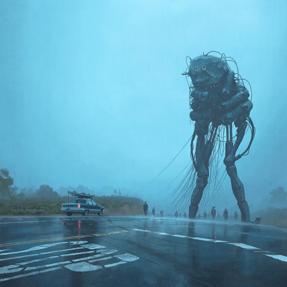 Режиссёр «Оно» экранизирует фантастический сюжетный артбук Саймона Сталенхага 3