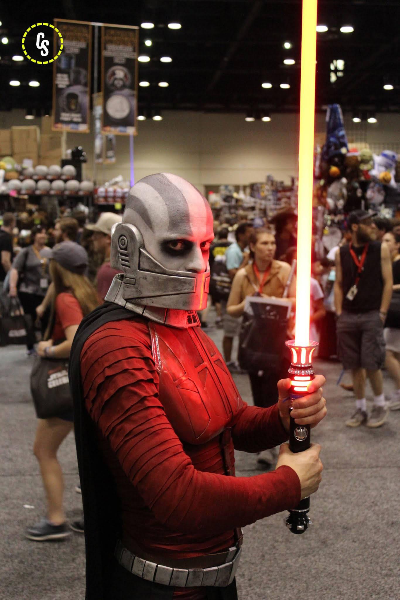 Косплей: Светлая и Тёмная сторона Силы в «Звёздных войнах» 7