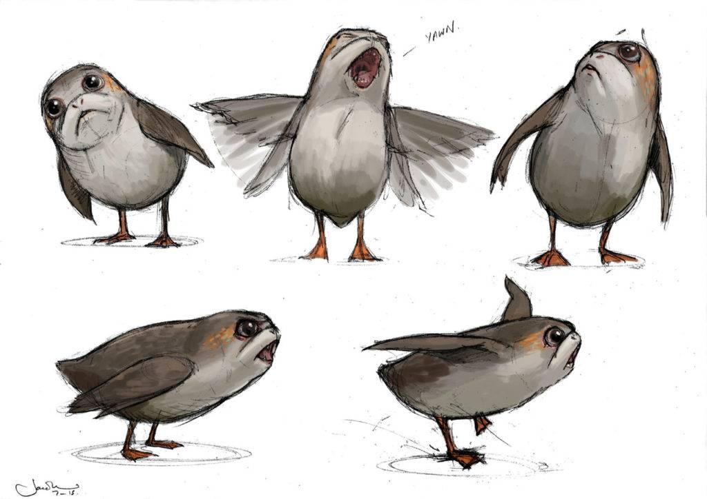 Откуда в «Последних джедаях» взялись птицы порги? 2