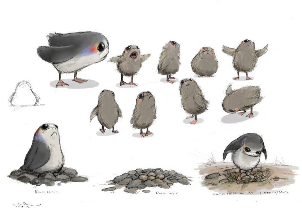 Откуда в «Последних джедаях» взялись птицы порги? 1