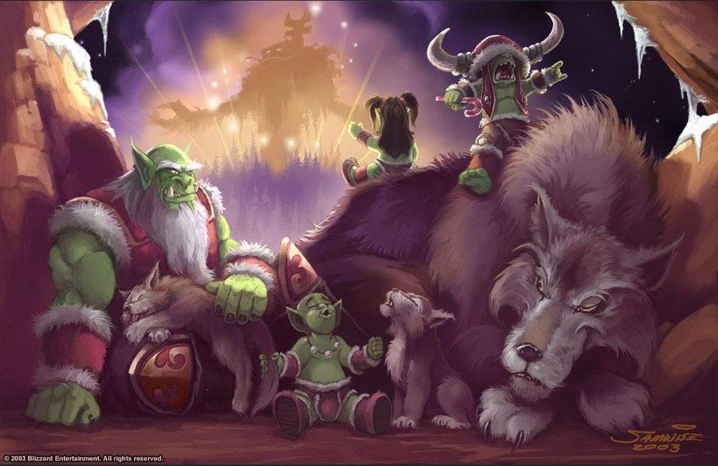 Как отмечают Рождество и Новый год в фантастических мирах 8