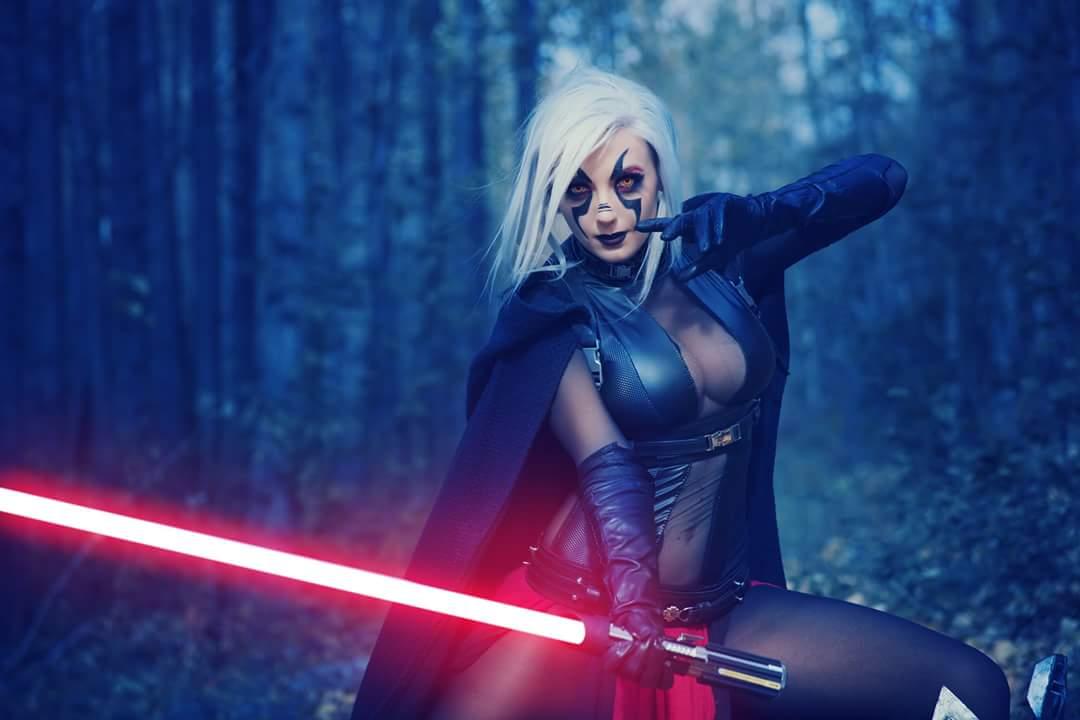 Косплей: Светлая и Тёмная сторона Силы в «Звёздных войнах»