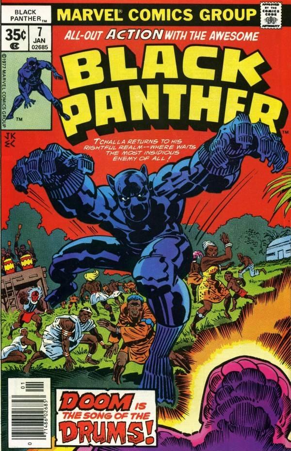 Как Чёрная Пантера в комиксах воевал с Ку-Клукс-Кланом и Фантастической четвёркой 1