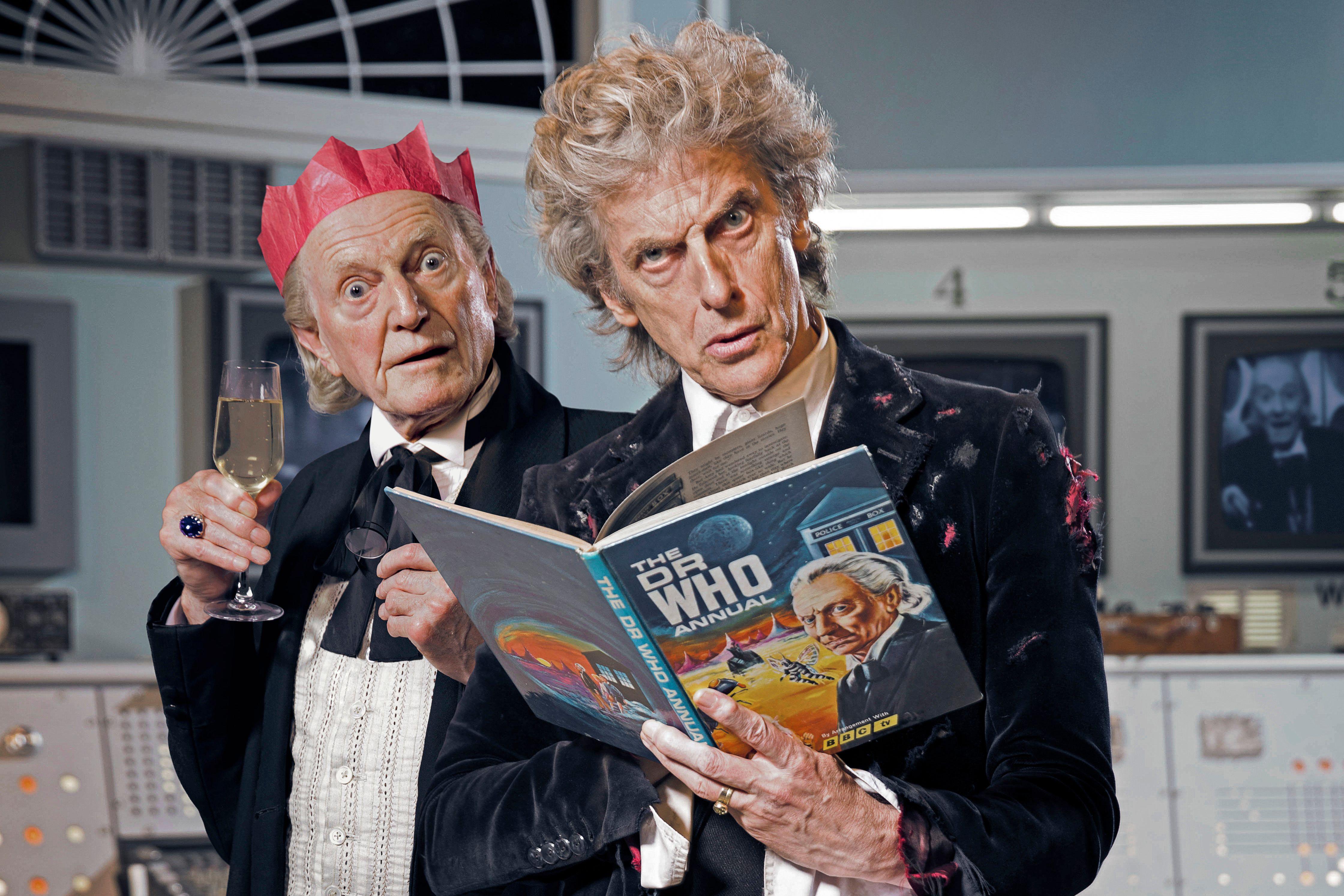 «Доктор Кто: Дважды во времени» — пасхалки в прошальной серии Двенадцатого Доктора 30