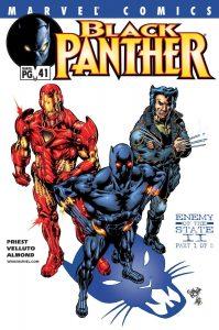 Как Чёрная Пантера в комиксах воевал с Ку-Клукс-Кланом и Фантастической четвёркой 5
