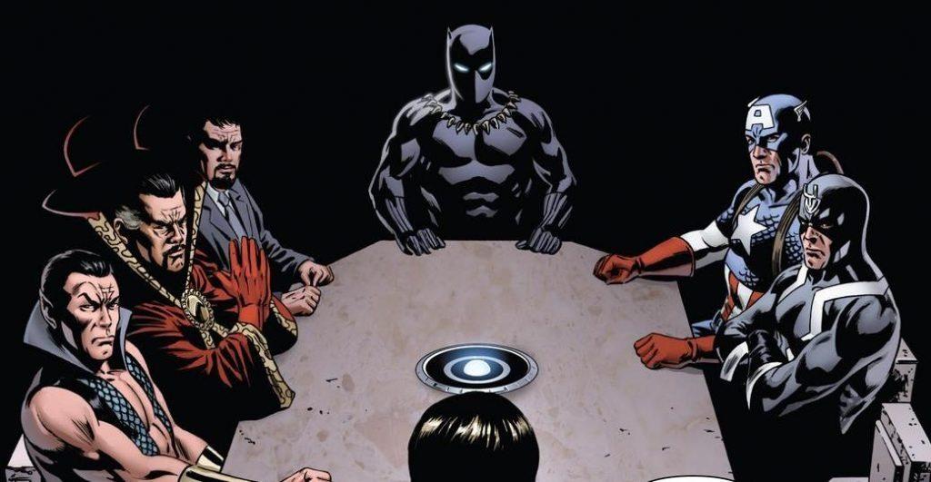 Чёрная Пантера в комиксах воевал с Ку-клукс-кланом и Фантастической четвёркой 6