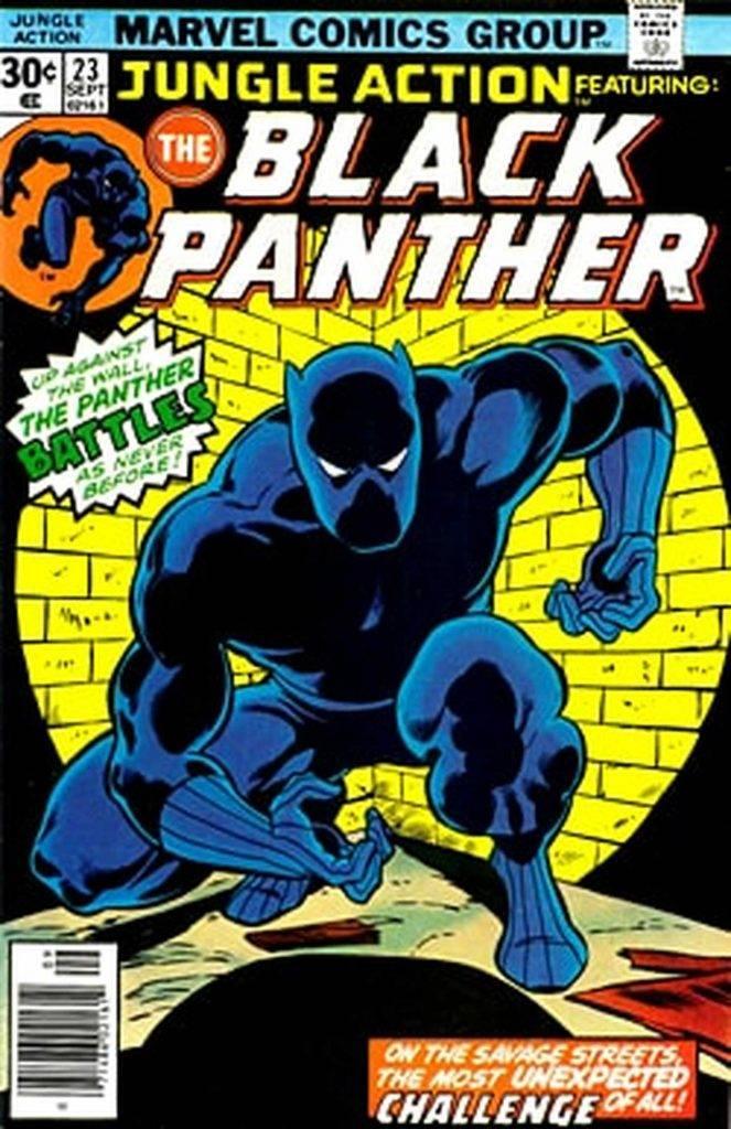 Чёрная Пантера в комиксах воевал с Ку-клукс-кланом и Фантастической четвёркой 7