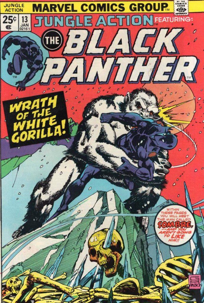 Чёрная Пантера в комиксах воевал с Ку-клукс-кланом и Фантастической четвёркой 8