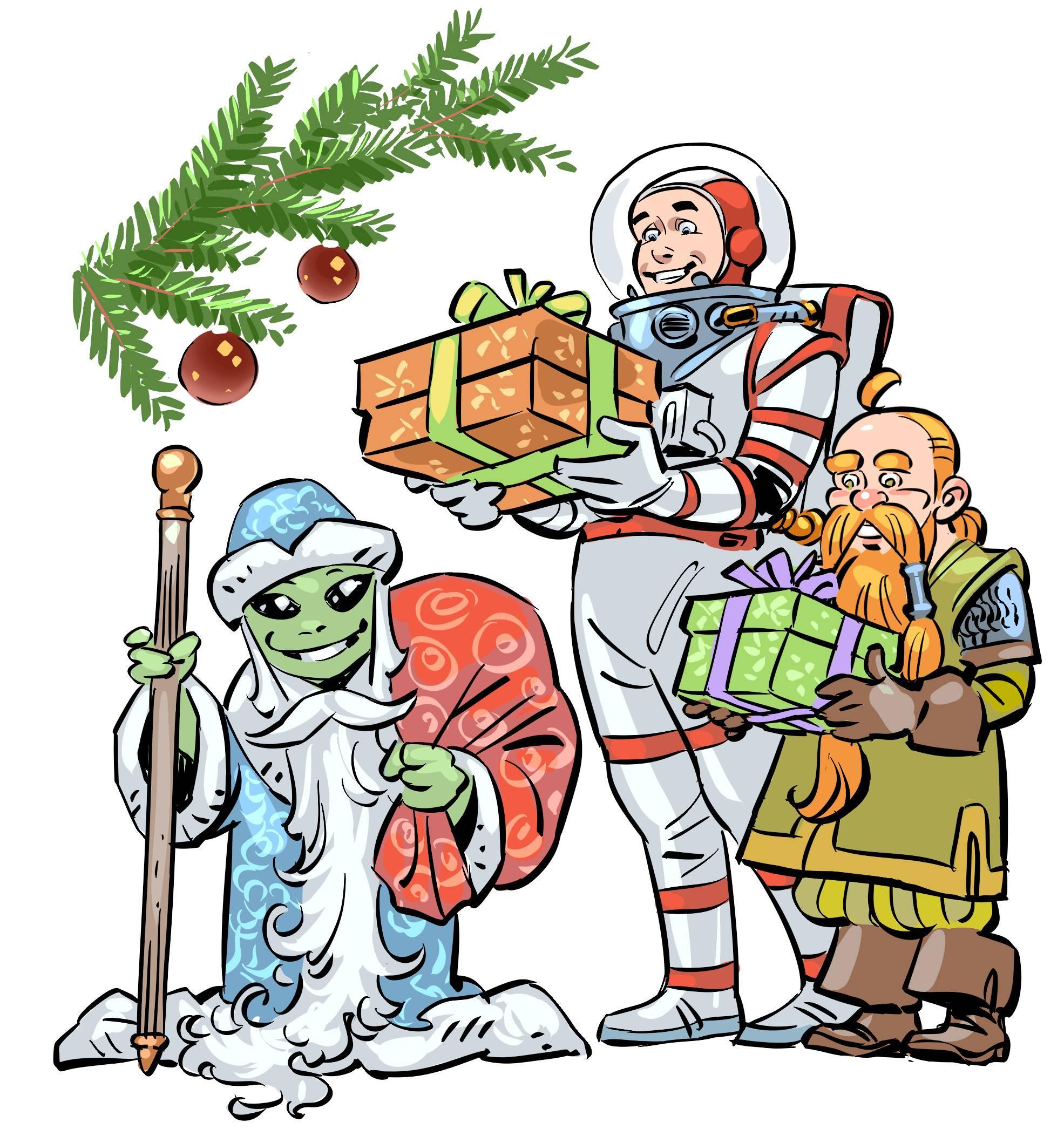Новогодние пожелания нашим читателям! 2