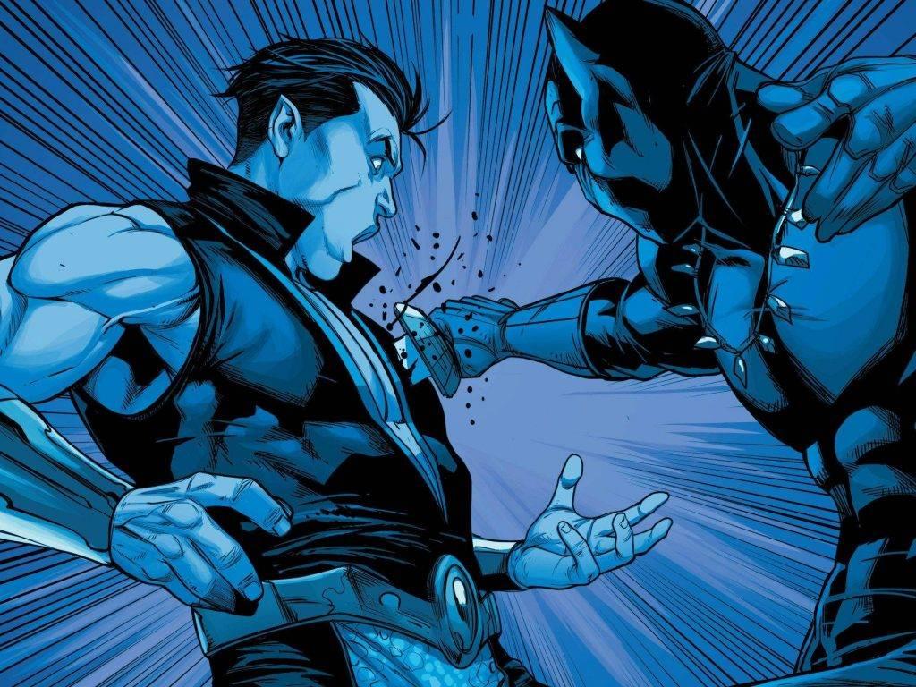 Чёрная Пантера в комиксах воевал с Ку-клукс-кланом и Фантастической четвёркой 14