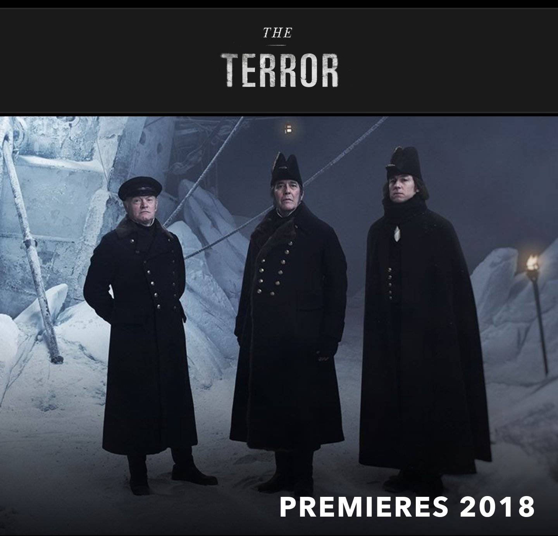 Вышел полноценный трейлер сериала «Террор» по мотивам романа Дэна Симмонса 1
