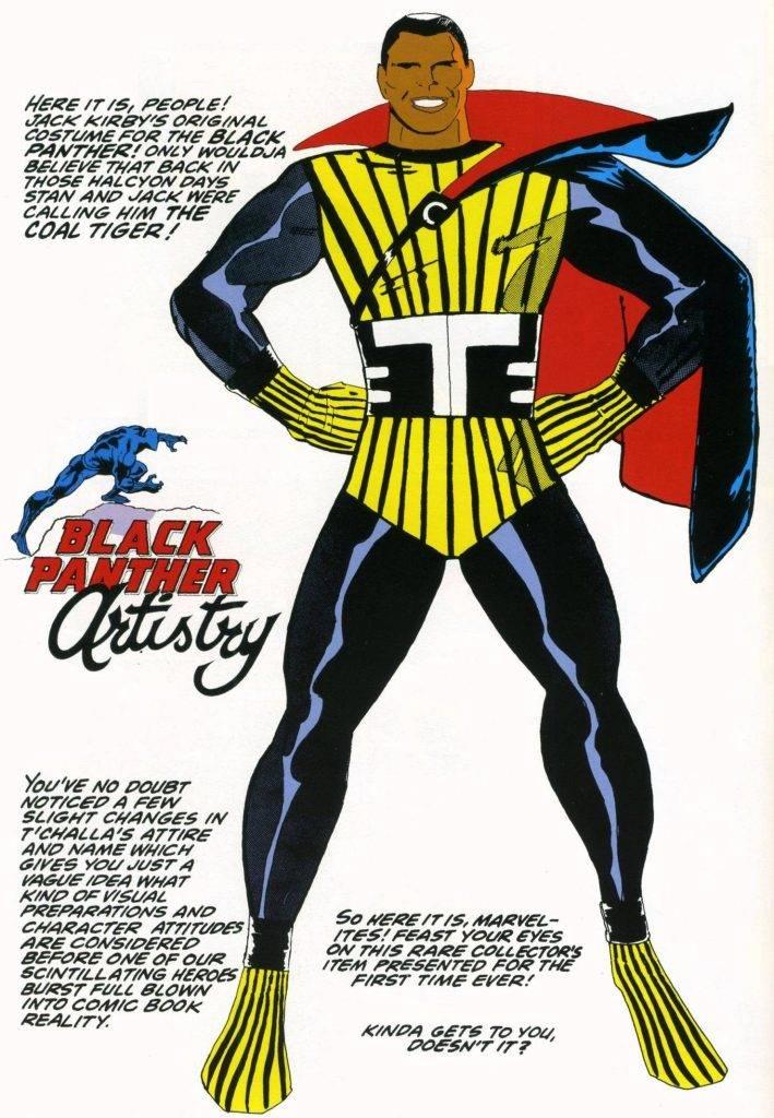 Чёрная Пантера в комиксах воевал с Ку-клукс-кланом и Фантастической четвёркой 2