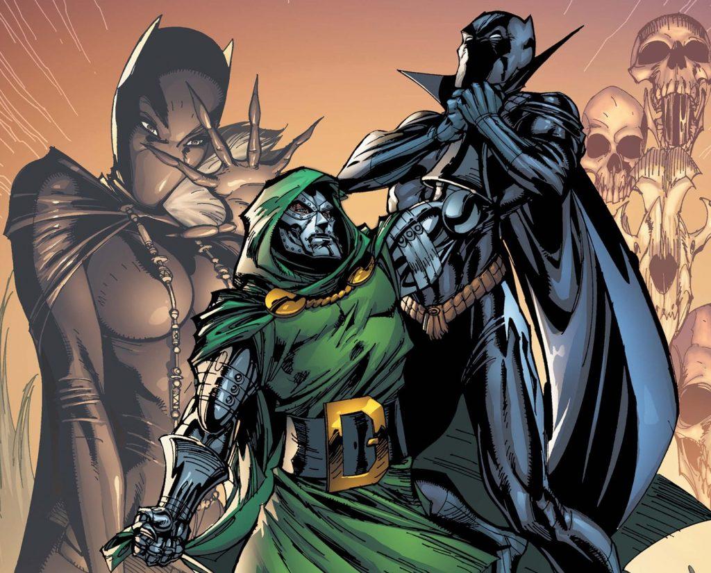 Чёрная Пантера в комиксах воевал с Ку-клукс-кланом и Фантастической четвёркой 3