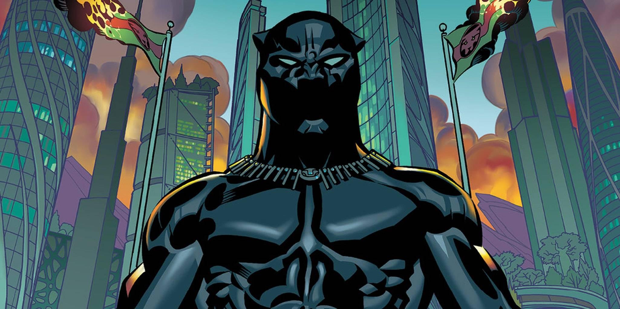 Чёрная Пантера в комиксах воевал с Ку-клукс-кланом и Фантастической четвёркой 19