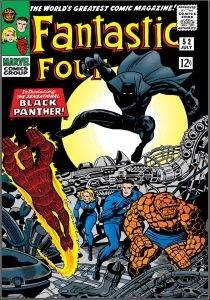 Чёрная Пантера в комиксах воевал с Ку-клукс-кланом и Фантастической четвёркой 4