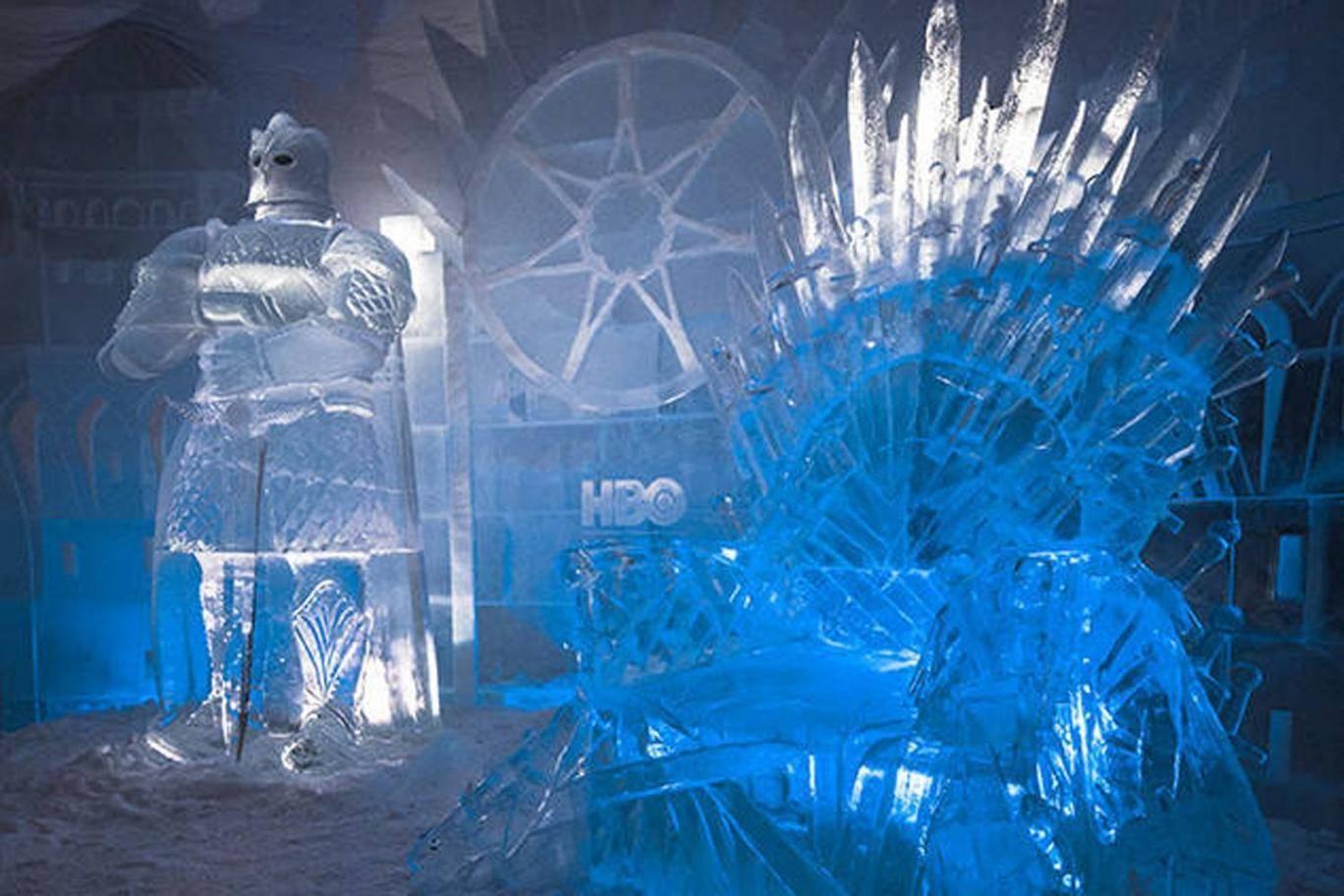 В Финляндии открылся ледяной отель в стиле «Игры престолов» 4