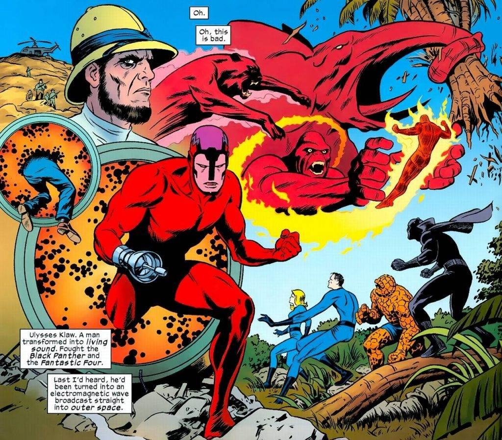 Чёрная Пантера в комиксах воевал с Ку-клукс-кланом и Фантастической четвёркой 13